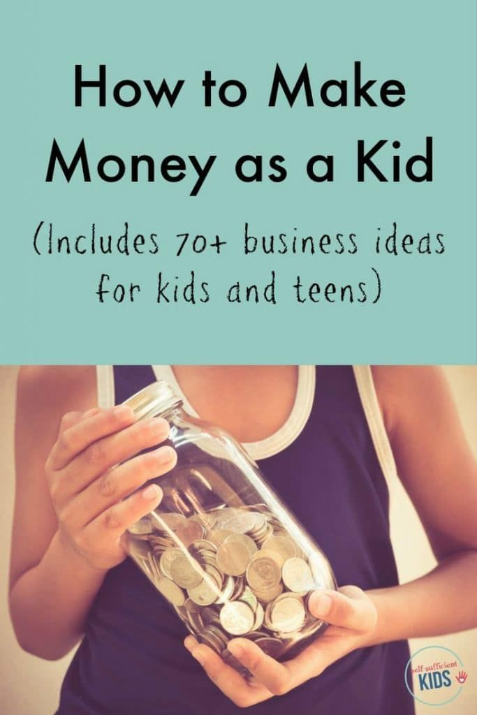 Whether you're a young kid or a teen, this is the ultimate guide to beginning your own business, getting a job, and making money. Includes 70+ business ideas. How to Make Money as a Kid