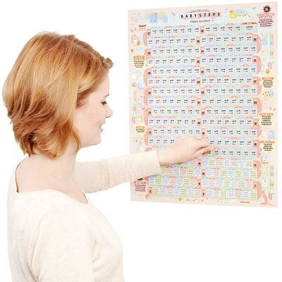 In deinem Freundeskreis steht eine Geburt an? Dann ist dieser Rubbelkalender ein tolles Geschenk für die werdenden Eltern. via: www.monsterzeug.de