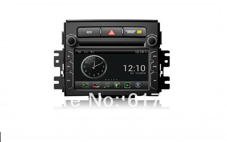 """Factory Price +Free Shipping+6.2""""HD Touchscreen Android Car DVD GPS Navigator for 2012 Kia Soul,Radio,BT,iPod, RDS,Wifi Dongle"""