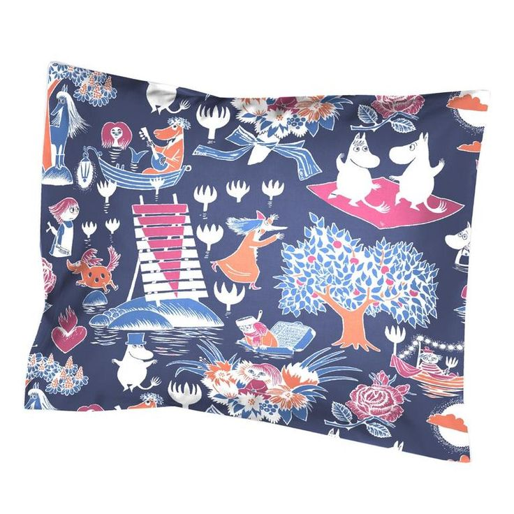 Magic Moomin pillow cover - The Official Moomin Shop