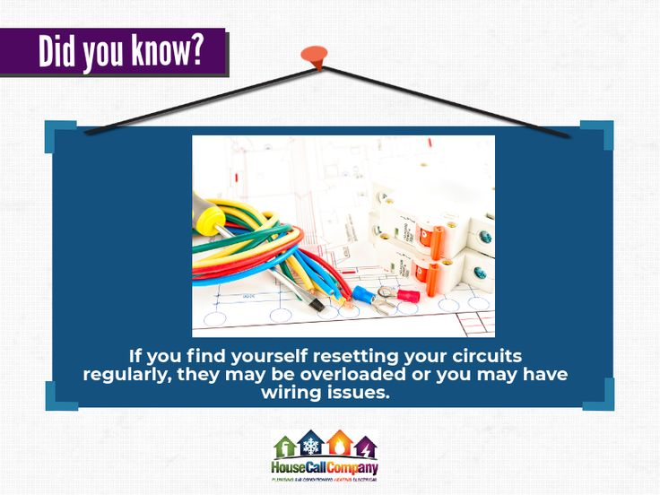 DidYouKnow? Your circuit breaker is a convenient way to