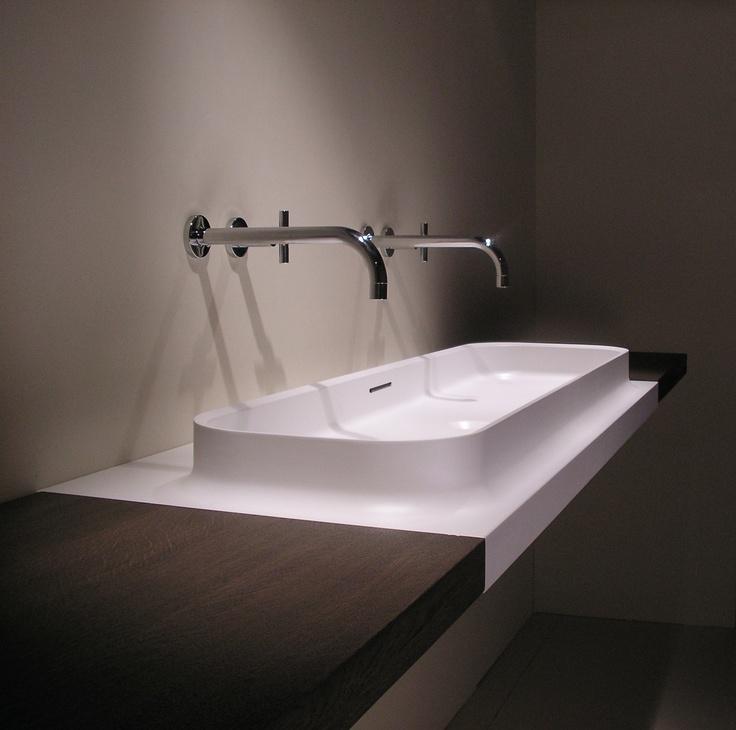 Marike - C7 1200 Bathroom basin. For more of our products, take a look at www.marike.com/... #bathbasins #bathroom #basins #himacs #corian