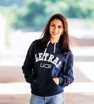 Moletom universitário personalizado para o curso de Letras da UNB. Solicite orçamento pelo site www.st47.com.br  #moletom #personalizado #universitario #st47 #letras #unb