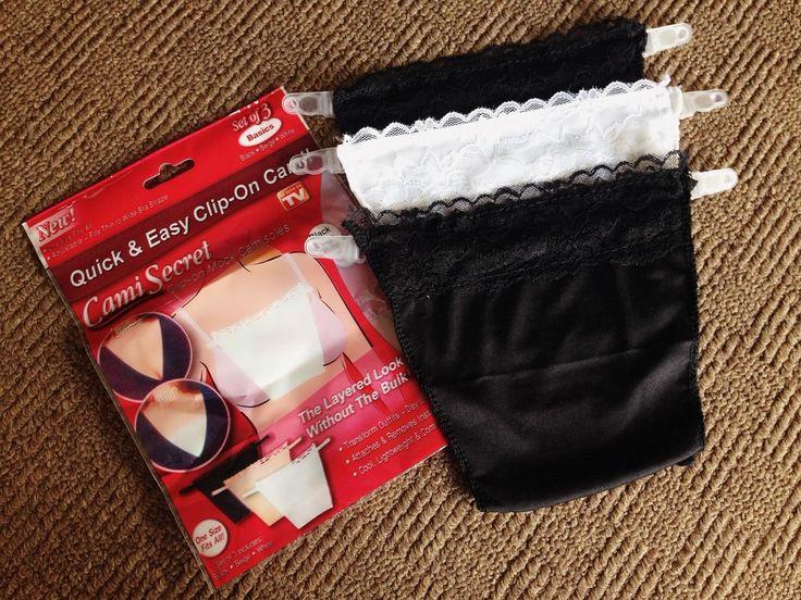Cami Secret (penutup bra bagian depan)/harga 30rb