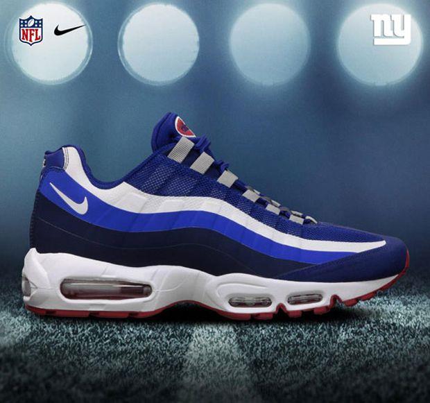 new style e5510 206aa ... NFL x Nike Air Max 95 No-Sew .