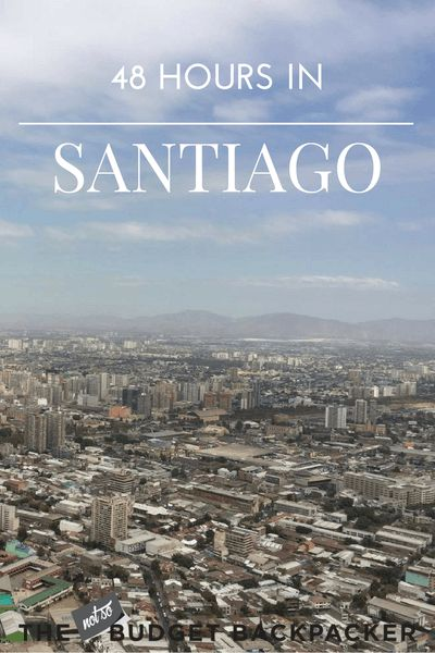 Calling all travellers on a tight time frame! From museums to hikes, here's all the things to do in Santiago Chile when you only have 48 hours. Things to do in Santiago, Santiago Chile, Santiago travel, Chile travel, 48 hours in Santiago, Where to go in Chile, Things to do in Chile, What to do in Chile, What to do in Chile