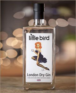 Little Bird Gin at Maltby Street Market, London.