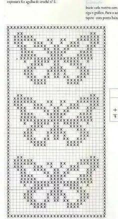 Resultado de imagem para grafico croche ponto listra