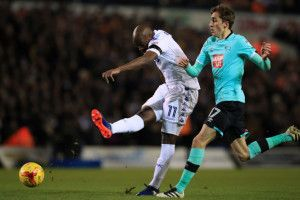 Leeds United 1 Derby County 0: Impressive Whites batter Rams to move third