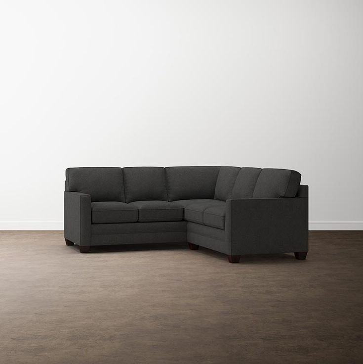 Alexander Track Arm Small L Sectional   L shaped sofa ...