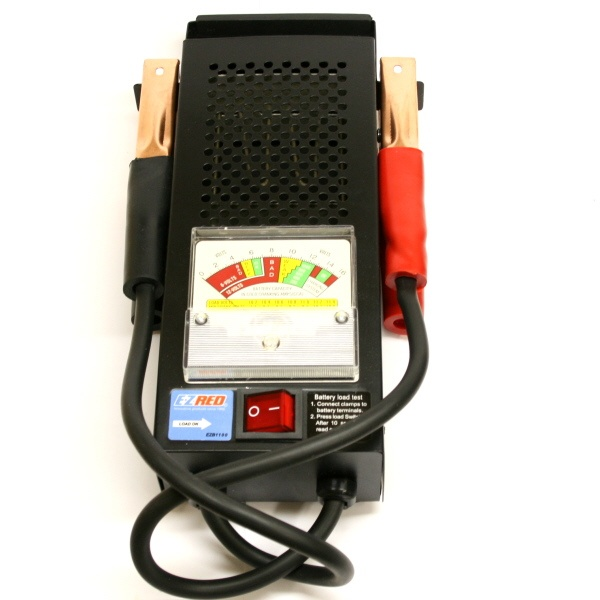 8 Volt Battery Load Tester : Ezb a analog battery tester http batterystuff