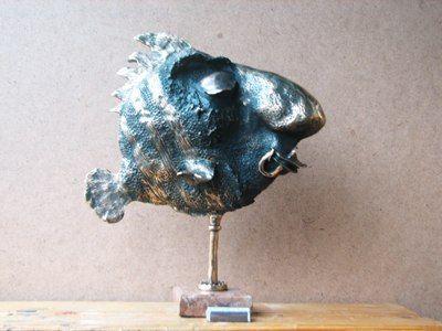 Бронзовые скульптуры Владимира Москаленко, литье, bronze, sculpture, fish, рыба, бронзовая скульптура