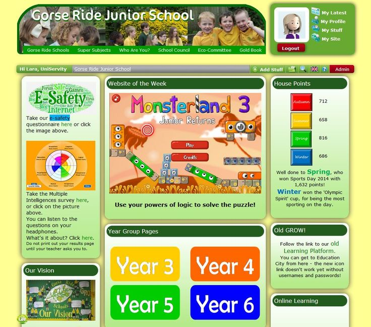 Gorse Ride Junior School in Wokingham haven't been up and running with their new learning platform for very long, but already it's so engaging - lucky children! Congratulations to @suebarnes42 and the rest of the GRJS staff.