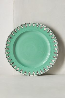 Anthropologie Elka Dinner Plate #anthrofave #anthropologie #home #decor #house #dinning #kitchen