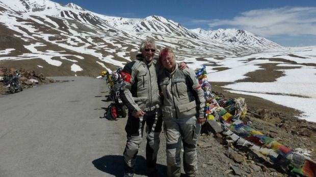 At 62, a Nelson Woman Adventures On The World's Most Challenging Road With Her Motor Bike  >>.  At the retiring age, a Nelson woman takes an adventure trip to the world's most challenging roads on her motorbike.  Lorraine Lindsay, a 62 year old woman has her sights set on a journey through a previously forbidden mountain kingdom.