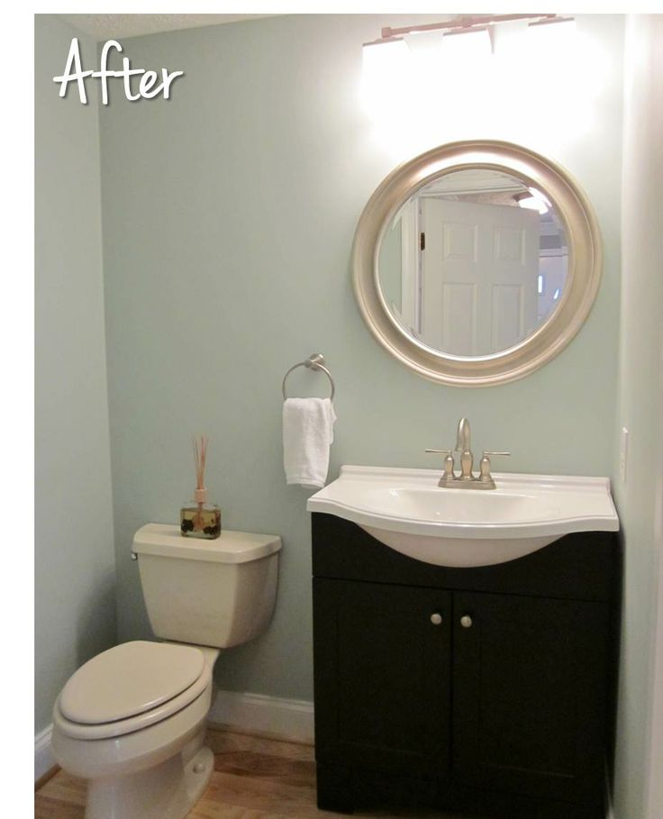 Bonnie Projects: Contemporary and relaxing half bath