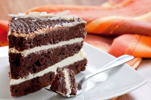 Ecco la ricetta del pan di spagna al cioccolato soffice ed alto, perfetto come base per le torte decorate