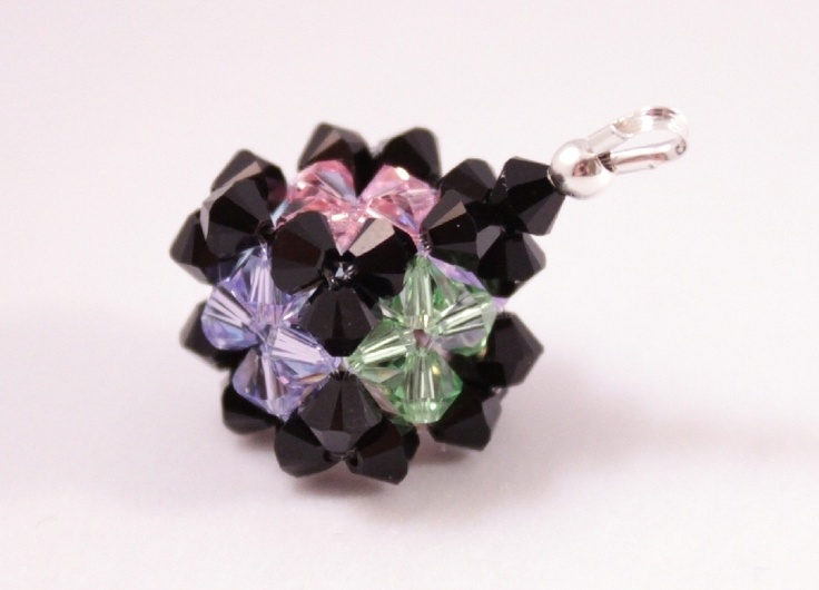 Handmade with *CRYSTALLIZED™ - Swarovski Elements* and sterling silver findings.  FREE shipping within Europe!  $18