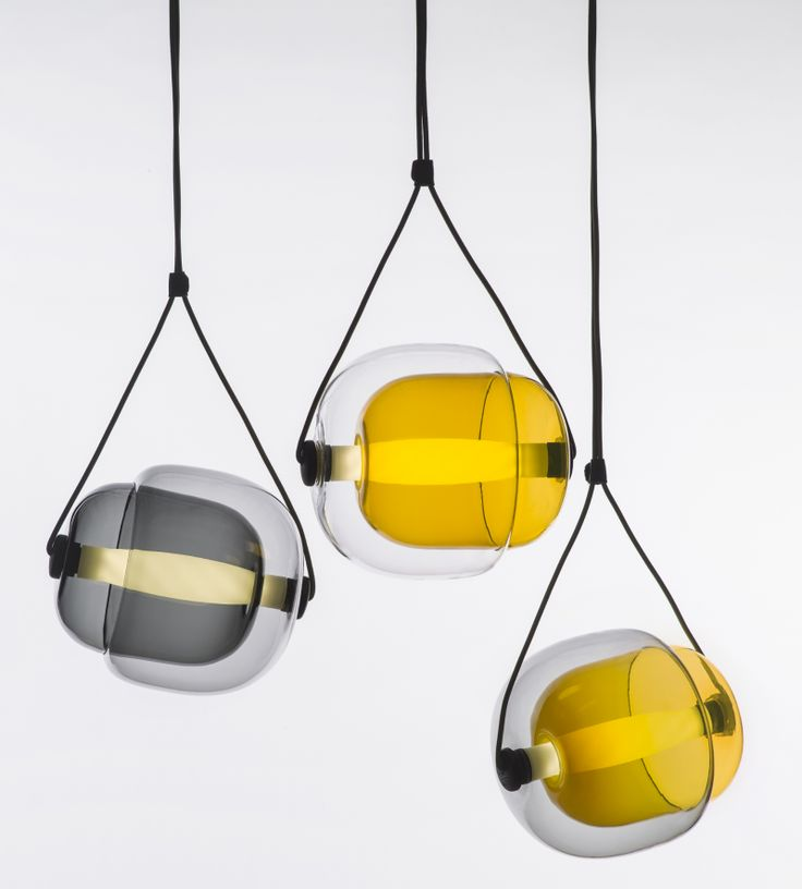 Exceptional The Capsula Model Is A Brilliant Pendant Light Design Composed Of Two  Convex Capsules, One Overlapping The Other And Fusing Into A Singular Form.