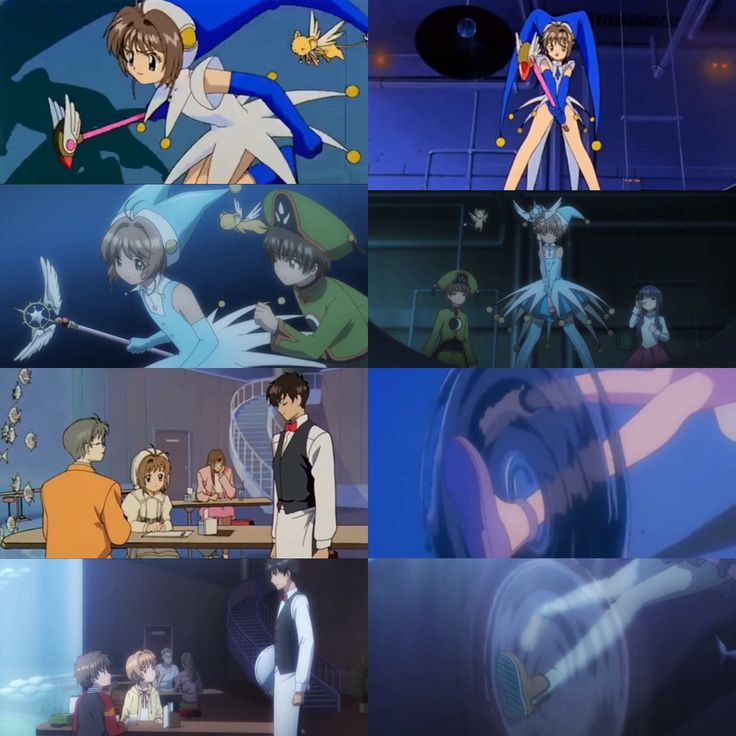 Cardcaptor Sakura Clear Card: Familiar scene from episode 3 of season 1