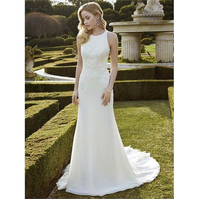 Ingwiller is a halterneck style wedding dress from Blue by Enzoani