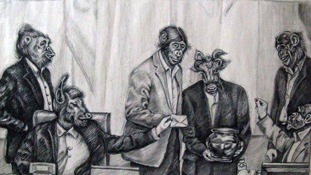 Iraanse kunstenares veroordeeld vanwege haar kritische kunst