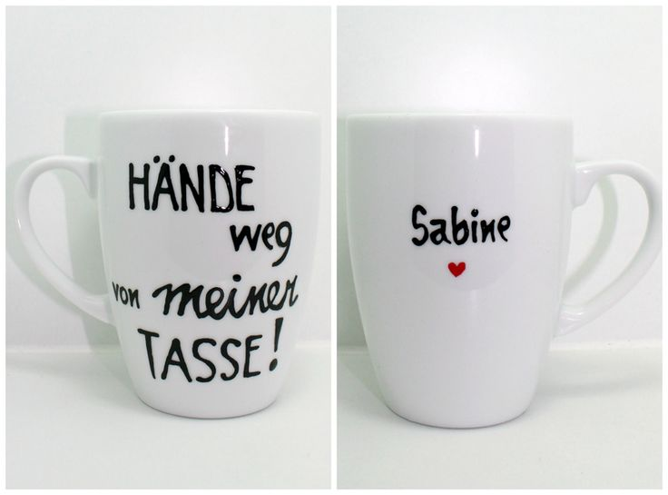 Tasse mit Spruch Tasse mit Name edle Namenstasse von Lovely-Cups via dawanda.com (Cool Crafts Awesome)
