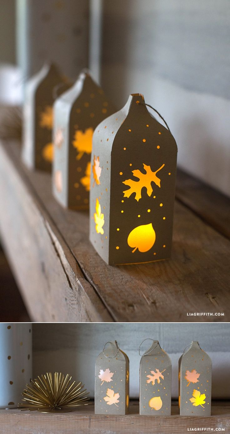 Free tutorial for paper lantern by  www.LiaGriffith.com