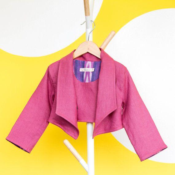 Girls Blazer Toddler Jacket Autumn Childrens Jacket by littlepicot