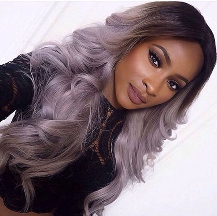 The 25 Best Purple Grey Hair Ideas On Pinterest Silver