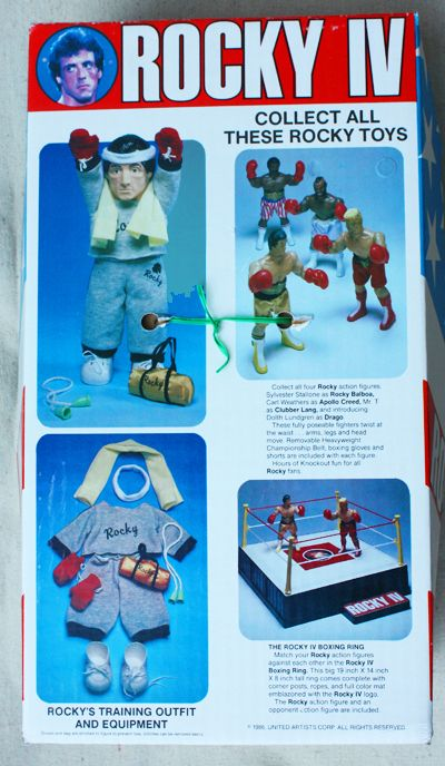 rocky, action figures