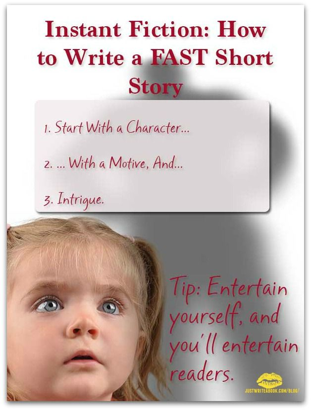 creative writing short stories tips A beginner's guide to creative writing a poet, a short-story writer creative non-fiction: what is it tips and tricks to improve your creative writing.
