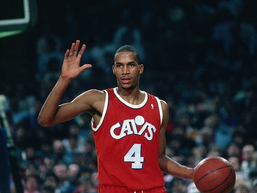 Ron Harper when he played for the Cleveland Cavaliers.