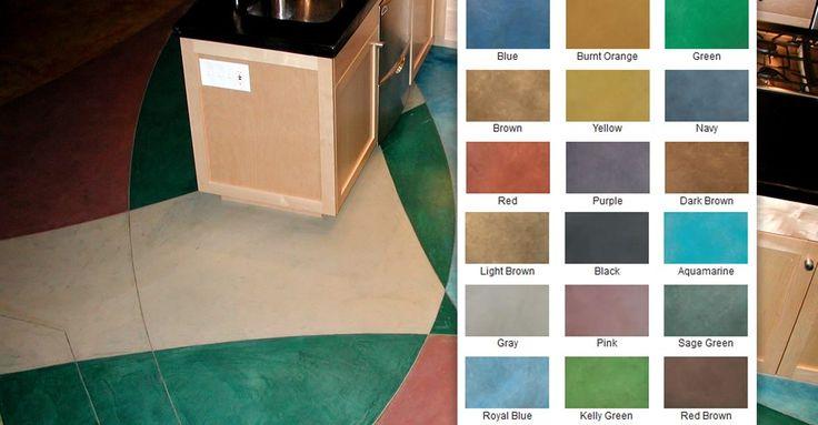 Concrete dye colors  Westcoat Site ConcreteNetwork.com ,