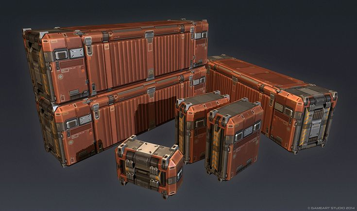 QR 3d Container by Talros.deviantart.com on @deviantART