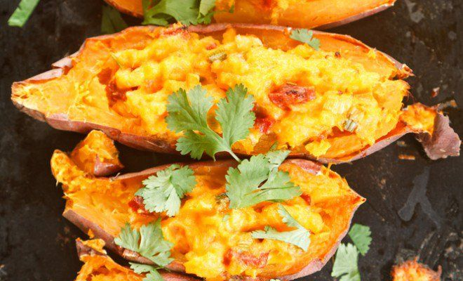 Get Your Carb Fix with This Sweet Potato Dish