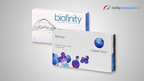 Kontaktní čočky Biofinity (6 čoček)    www.cocky-kontaktni.cz