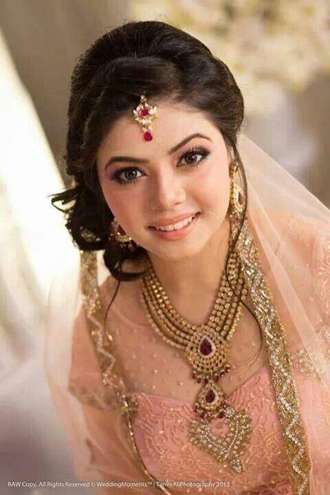 367 Best Images About Bridal Makeup On Pinterest | Indian Bridal Makeup Pakistani Bridal Makeup ...