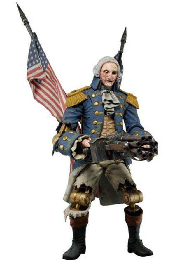 Bioshock Infinite Cosplay Patriot George washington toys