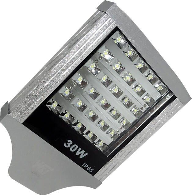 O varianta mult mai economica de inlocuire a iluminatului stradal clasic, LAMPA STRADALA LED 30W ALB RECE este alegerea potrivita in cazul in care doriti un corp de iluminat exterior durata mare de viata si cu o lumina placuta, alb rece.