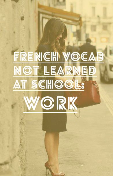 french-vocab-work