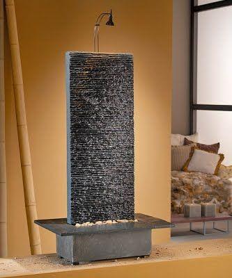 Feng shui interiors and fuentes de agua on pinterest - Fuentes para interior ...