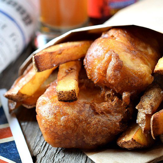 English-Style Fish & Chips - The perfect crispy fish batter!