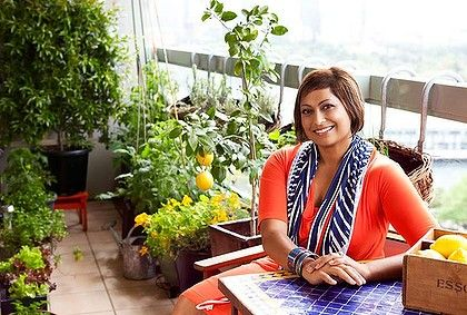 The Edible Balcony- Indira Naidoo  http://www.penguin.com.au/products/9781921382536/edible-balcony