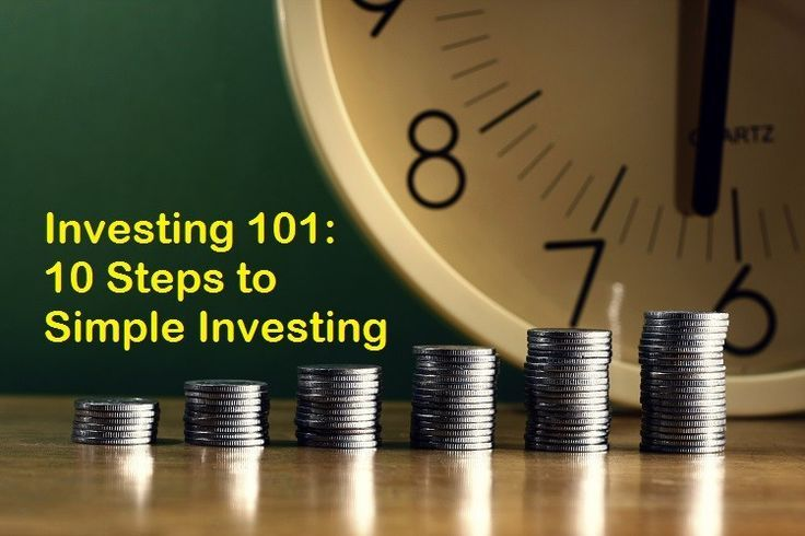 Investing 101: 10 Steps to Simple Investing - Debt Free Guys Passive Investing, Investing Tips, #invest