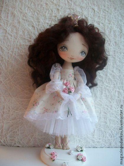 Коллекционные куклы ручной работы. Ярмарка Мастеров - ручная работа Кукла Принцесса. Handmade.