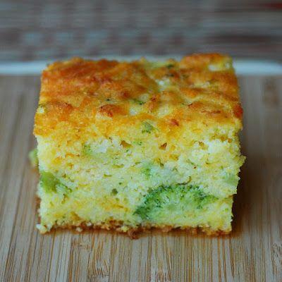 Broccoli Cheddar Cornbread @keyingredient #cheese #recipes #cheddar