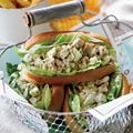 Garden Tuna Salad Sandwich    From Country Living  Our Garden Tuna Salad Sandwich bursts with fresh flavors, from tart Granny Smith apple to crisp, spicy fennel.