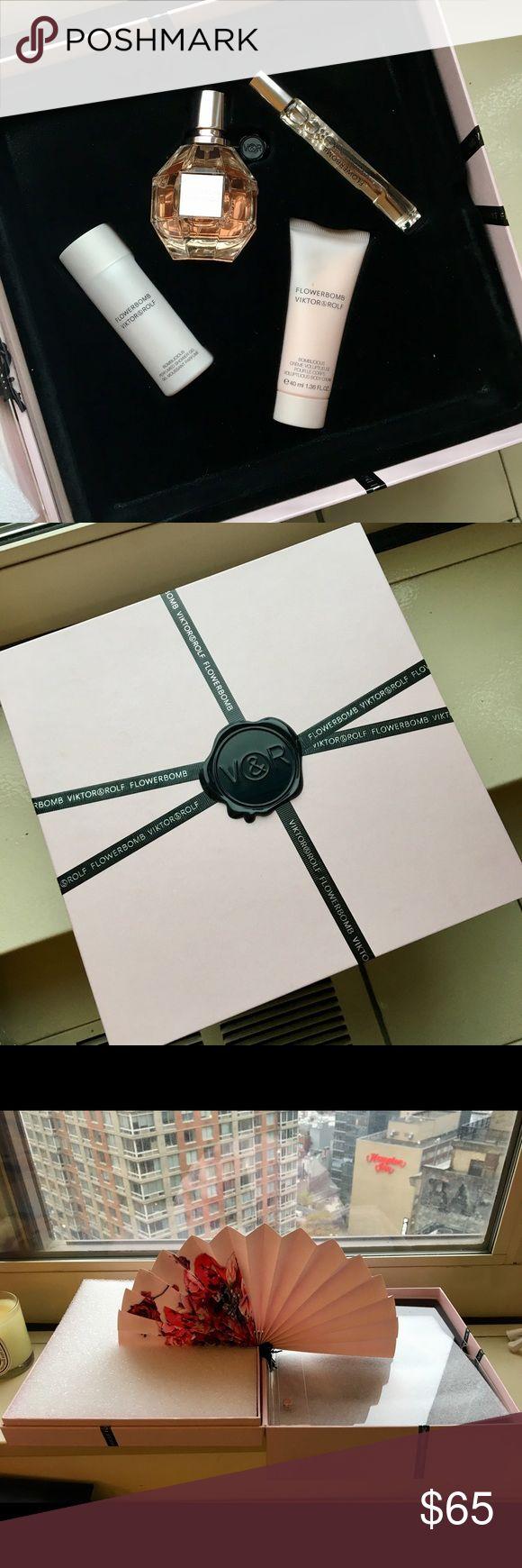 Interior design home fragrance gift set - Viktor Rolf Perfume Gift Set Nwt