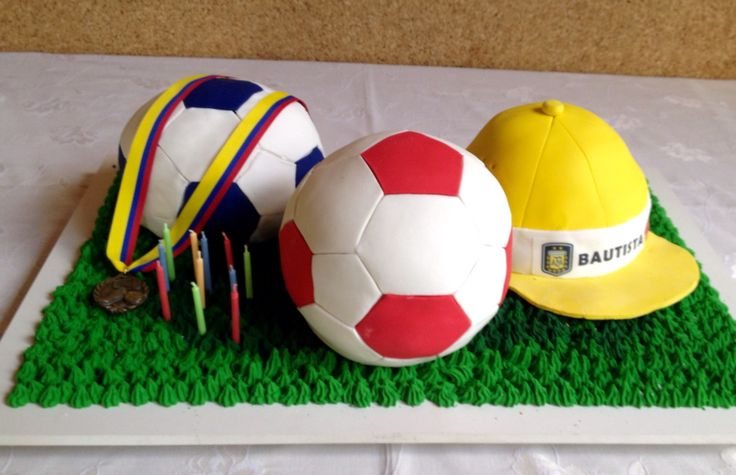 #cake #ball #soccer #decorating ideas